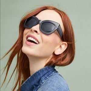 Anthropologie Red Sunglasses